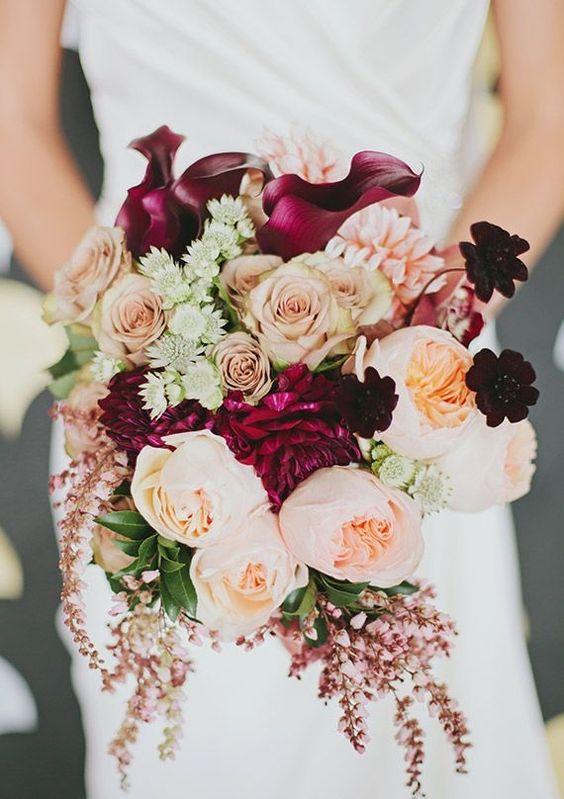 Paleta de colores Perfect Burgundy para tu boda 1