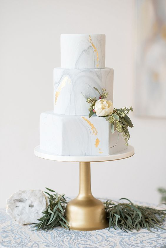 6 espectaculares formas de incorporar la tendencia del mármol en tu boda