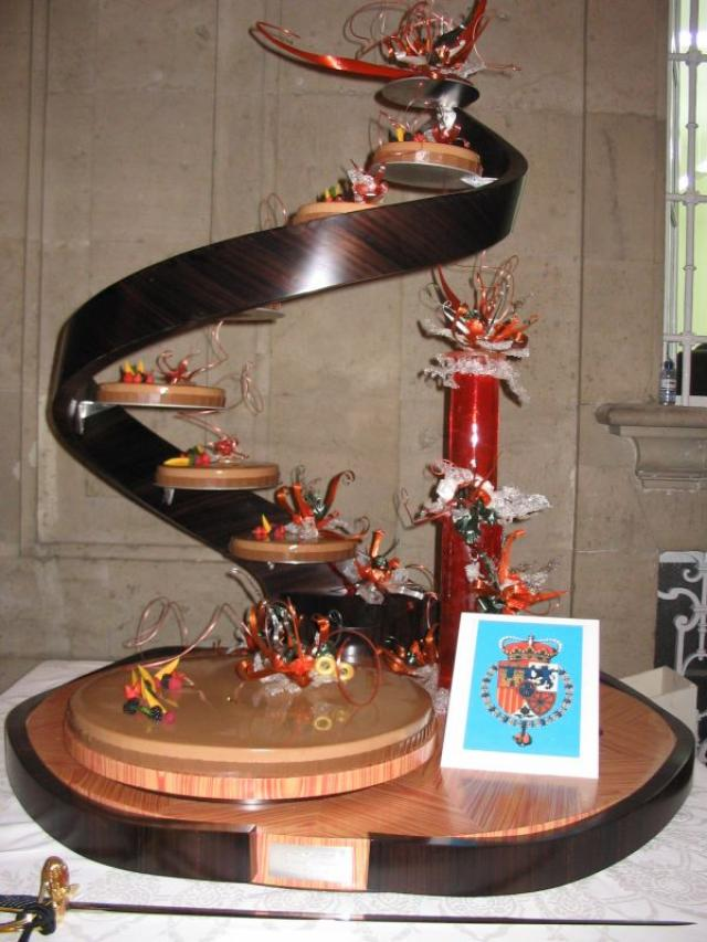 TOP 5: Los pasteles de boda más espectaculares de la realeza