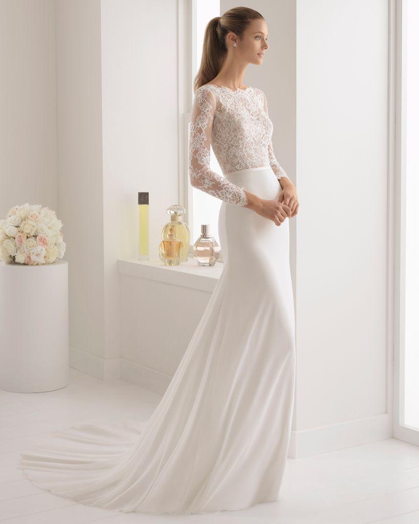 ¿Vestido de novia transparente? Te decimos si esta tendencia del 2018 es aceptada o si es mejor evitarla