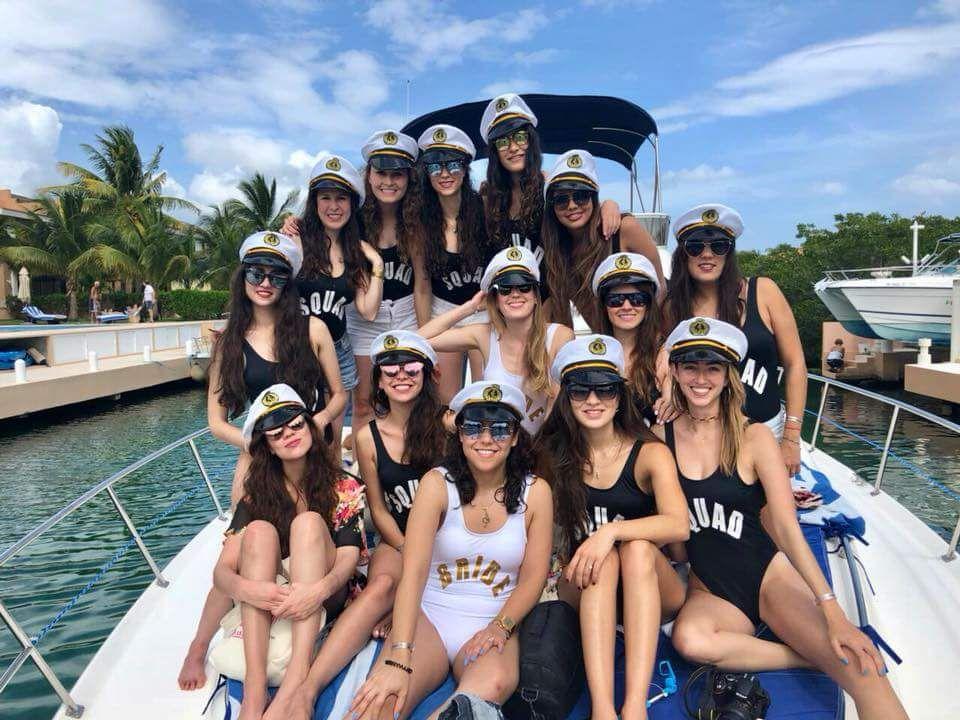 Gorros de marinero para despedidas de soltera