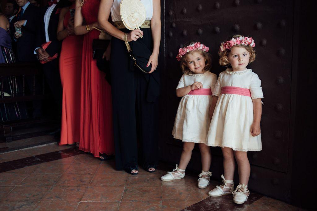 Como vestir a los pajes en una boda de Playa