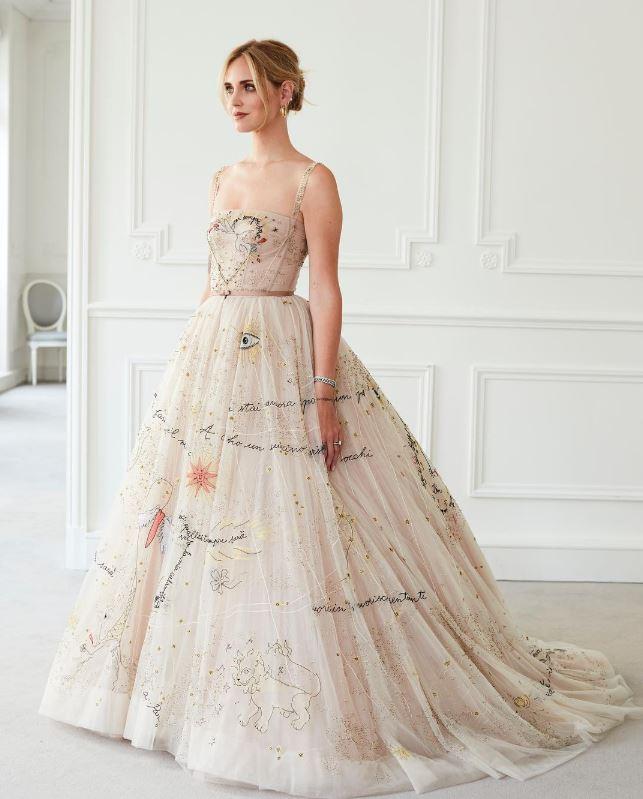 vestido de novia de Chiara Ferragni 4