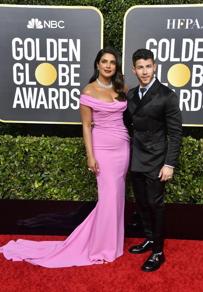 parejas que vimos en los Golden Globes 2020 7