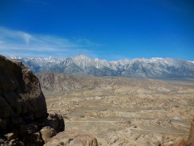 Beautiful view of the Sierra Mountains