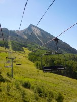 Lift up to the Summit of Crested Butte