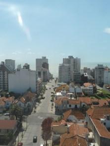 Vista de la calle Falucho