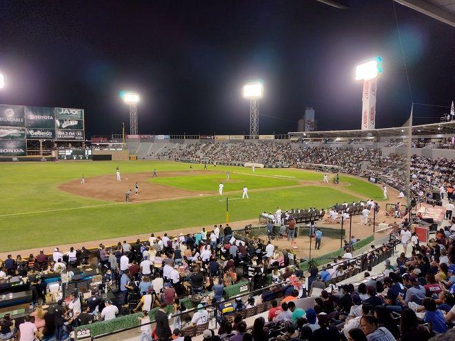 Interior Estadio Revolucion beisbol Algodoneros
