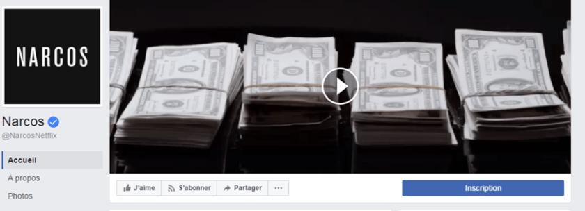 Narcos Facebook