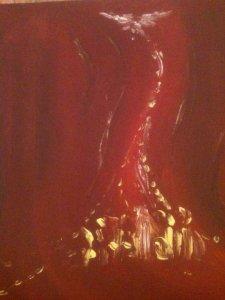 Pentecôte, huile sur toile, 25x30 cm, GLSG, Mai 2011