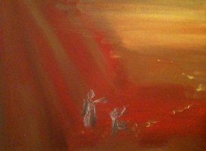Le Centurion, huile sur toile, 25x30 cm, GLSG, Mai 2011