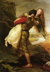 John Everett Millais, La Couronne d'Amour, 1875, huile sur toile