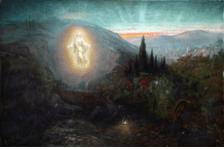 Samuel Lawson Booth (1836-1928) Résurrection (Resurrection) date inconnue, Atkinson Art Gallery, huile sur toile