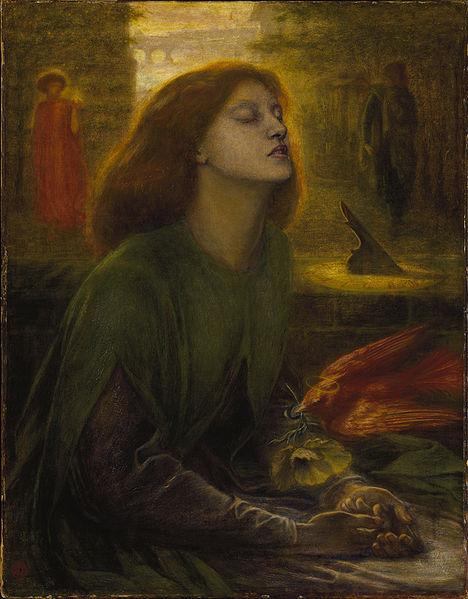 Dante Gabriel Rossetti (1828-1882) Beata Beatrix, 1864-1870, Tate Gallery, huile sur toile