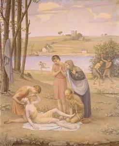 Bryson Burroughs eurydice mordue par un serpent 1930 www.metmuseum.org