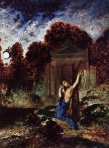 Gustave Moreau - Orpheus at the Tomb of Eurydice