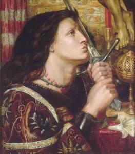 Jeanne_d_Arc_embrassant_l_p_e_de_la_d_livrance_dante_gabriel_rossetti_www.histoire_image.org