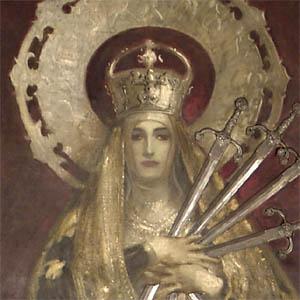 John Singer Sargent, Vierge de Douleur (Madonna of Sorrows) 1916, Boston Public Library