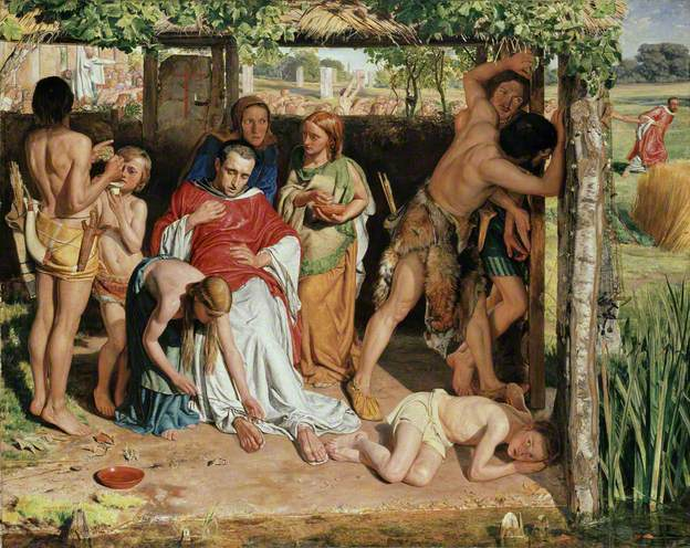 Ashmolean Museum of Art and Archaeology (Oxford), 1850, huile sur toile, 111 x 141 cm