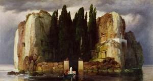 Arnold Böcklin, L'Île des Morts, 1886, huile sur toile, 80 x 150 cm, Museum der bildenden Künste (Leipzig)