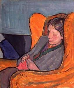 Virginia Woolf par Vanessa Bell, vers 1912, National Portrait Gallery