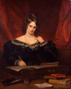Portrait de femme dit de Mary Wollstonecraft Shelley, Samuel John Stump National Portrait Gallery (Londres), 1831, huile sur toile