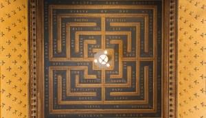 Plafond-Labyrinthe du Musée Bagatti Valsecchi (Milan)