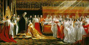 Charles Robert Leslie, Le sacre de la reine Victoria, 28 juin 1838, 1838-39, Royal Collection, huile sur toile, 97.5x186.4cm, Royal Collection Trust/© Her Majesty Queen Elizabeth II 2015