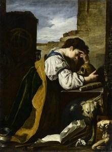 Domenico Fetti (1588/1589 - 1623) La Mélancolie Vers 1618 - 1623, musée du Louvre