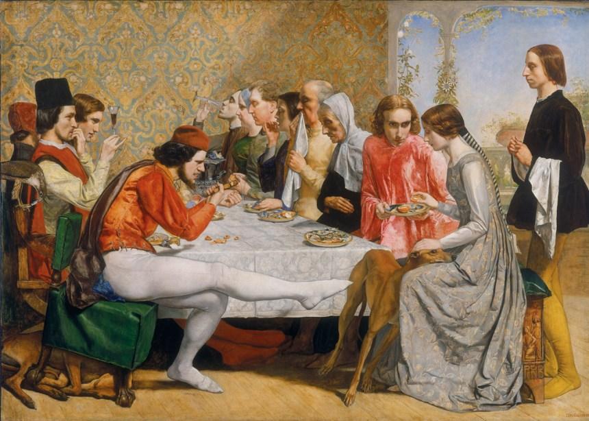 Millais, Claudio et Isabella
