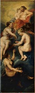 7. Pierre-Paul Rubens (1577-1640) Les Parques filant la destinée de Marie de Médicis, 1621-25, huile sur toile ©musée du Louvre, Paris