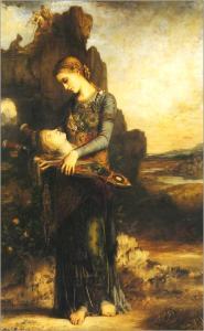 Gustave Moreau (1826-1898) Orphée, 1865 huile sur bois, © RMN-Grand Palais (Musée d'Orsay) / Hervé Lewandowski