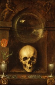 fig. 24Jacob de Gheyn II , Vanité, 1603, huile sur bois, ©Metropolitan Museum, New York
