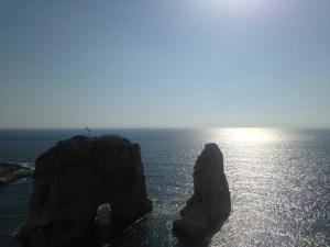 Face à la mer depuis Beyrouth