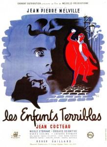 Affiche du film Les Enfants Terribles de Jean Cocteau (1950)