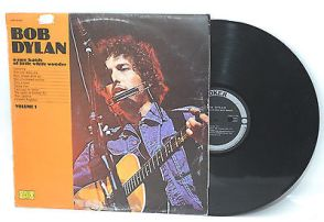 Bob Dylan, vinyl record