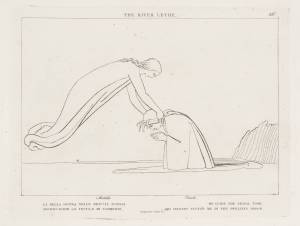 After John Flaxman, The River Lethe, 1807, Tate Gallery, London, etching on paper