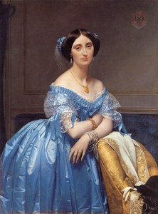 J.-A. Ingres (1780-1867) Portrait of the Princess de Broglie, 1853, Metropolitan Museum of Art, New-York, oil on canvas