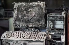 ordinateur cassé