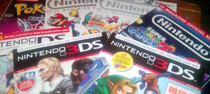 La mort des magazines Nintendo – sauvons les mags de jeu vidéo!