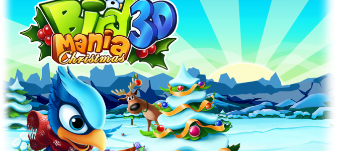 [Test] Bird Mania Christmas 3D