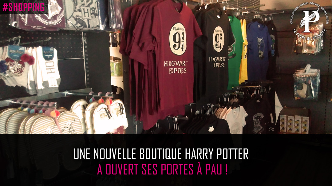 Une nouvelle boutique Harry Potter a ouvert ses portes à Pau !