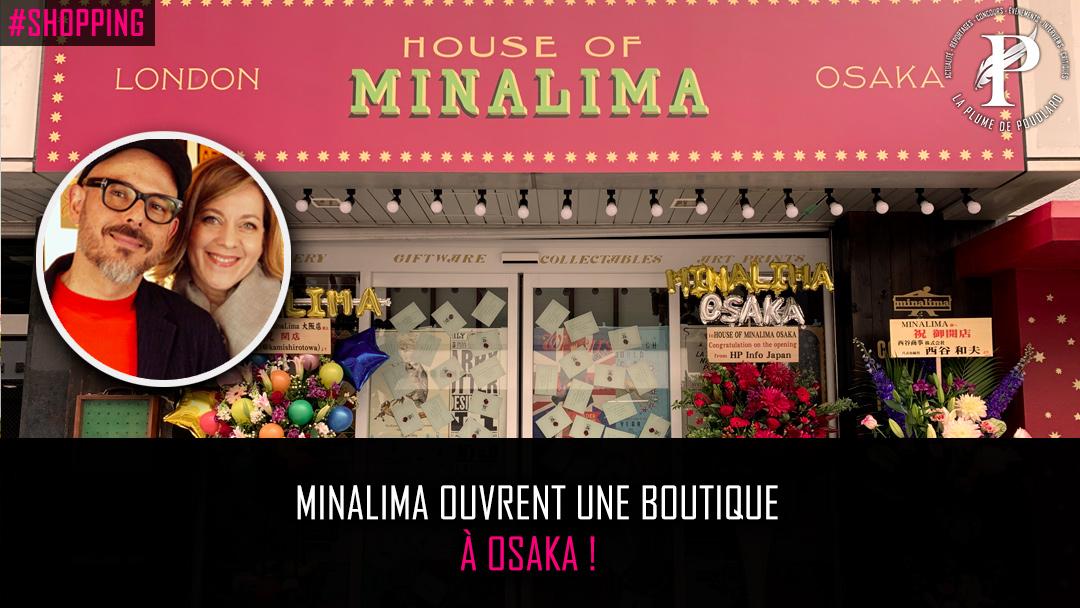 MinaLima ouvre une boutique au Japon !!