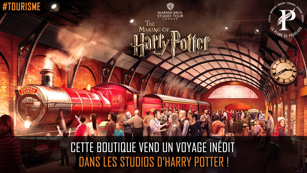 Flash info : Voyage inédit au sein de l'univers d'Harry Potter !