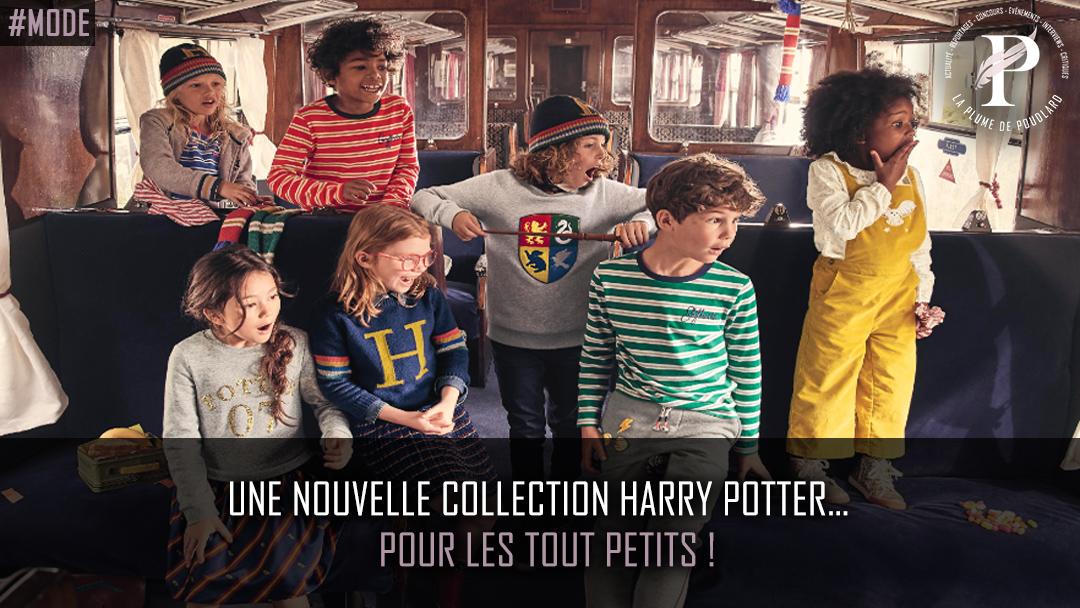 Une nouvelle collection Harry Potter… pour les tout petits !