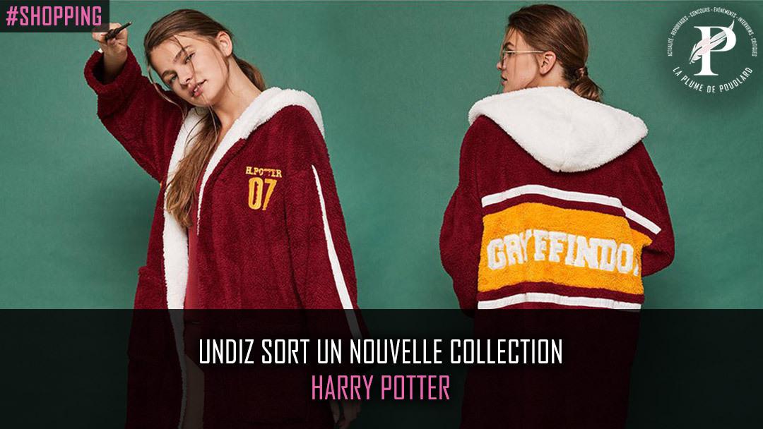 Undiz sort une nouvelle collection Harry potter !