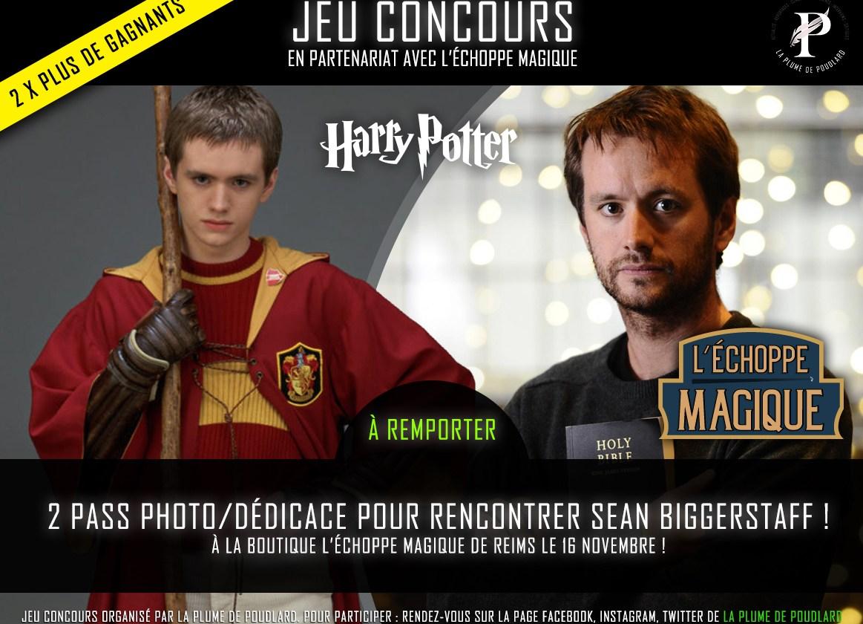 Olivier Dubois a l'échoppe magique de Reims le 16 novembre 2019