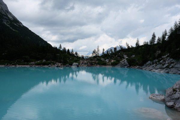 Lago Sorapis Azul