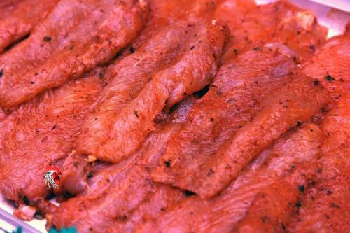 Filetes de Pechuga de Pavo al Adobo Casero