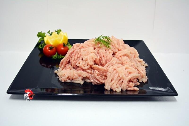 Carne picada de pollo